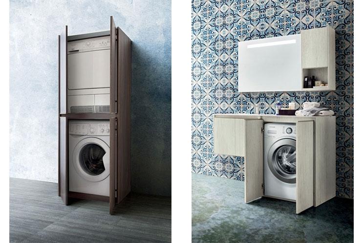 Lavanderia di bartolomeo for Mobile per lavatrice e asciugatrice da esterno